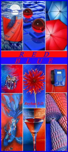 '' RED & BLUE '' by Reyhan S.D.
