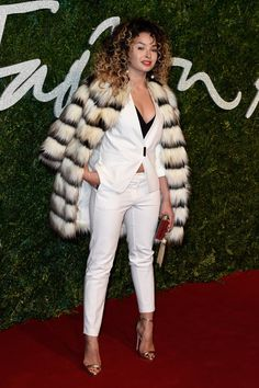 Pin for Later: The British Fashion Awards Red Carpet Was as Stylish as You'd Expect Ella Eyre