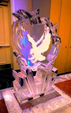 Ice Luge for the Edgewater HS (Florida) 2013 prom.