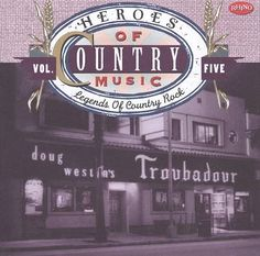 Capa Cd country - Heroes of country music