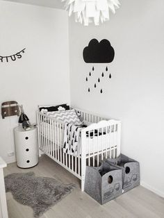 Black Is The New #Black! Who said that #baby products and #clothes can only come in pastel colors? Black and #White is the #newtrend