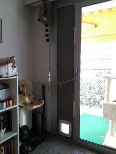 Comment Fabriquer Une Chatière Sans Découper La Vitre | Blog Notes |  Animaux | Pinterest | Cat And Animaux