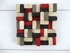 Wood Slice Sculpture  Wooden Slice by TheInspiredDragonfly on Etsy