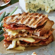 Salty-Sweet Bacon Panini recipe