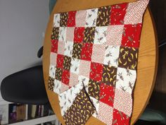 My first quilt/baby blanket... Sock monkey love!