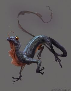 Image result for creature concept art