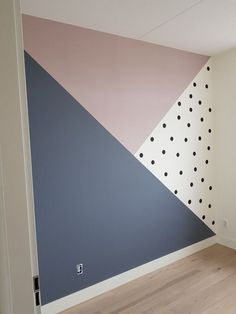 Bedroom Wall Designs, Room Ideas Bedroom, Baby Room Decor, Bedroom Decor, Kids Bedroom Paint, Big Girl Rooms, Dream Rooms, House Rooms, New Room