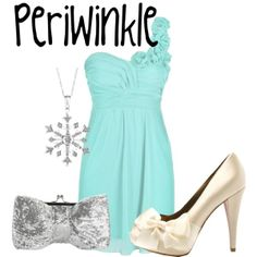 """Periwinkle"" by sydney-emerson on Polyvore  Perfect for a New Years Party"