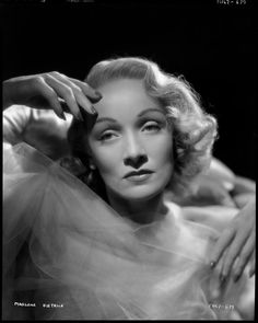 Portrait of Marlene Dietrich for Desire directed by Franck Borzage, 1936. Photo by Eugene Robert Richee