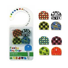Key Covers - Funky Pattern - $5.49 at TheStorageStore.com