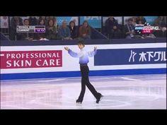 羽生結弦選手2014年G・ファイナルSP(B・ユーロスポーツ解説翻訳) - YouTube