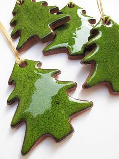 ceramic christmas ornaments diy - Google Search