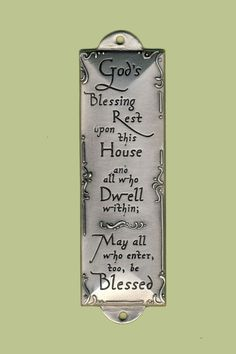 "Room Blessing ""Blessings Upon This House"" – Celebrate Faith"