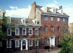 Gadsby's Tavern-The tavern and adjoining hotel provided accommodations for such notables as George Washington, Thomas Jefferson, James Madison and the Marquis de Lafayette. Love the rich history of Virginia.
