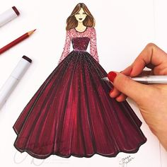 The Effective Pictures We Offer You About fashion sketches easy A quality picture can tell you many Dress Design Drawing, Dress Design Sketches, Fashion Design Sketchbook, Fashion Design Drawings, Dress Drawing, Fashion Sketches, Fashion Figure Drawing, Fashion Drawing Dresses, Dress Illustration