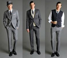 50S Suits For Men | Amy Bird Tweets: Fashion For Men: Suits to Suspenders