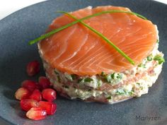 Salmon recipes 329325791487817114 - Mille-feuille de la mer Source by Fast Healthy Meals, Healthy Dinner Recipes, Appetizer Recipes, Appetizers, Healthy Eating, Salmon Recipes, Fish Recipes, Seafood Recipes, Soup Recipes