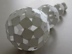 paper sphere by Yoshinobu Miyamoto