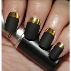 17 colorful and easy nail art designs which you can easily apply to beautify your nail. Multi colored polka dots and horizontal strips design are my favorite. Gold Manicure, Gold Nails, Manicures, Funky Nail Art, Easy Nail Art, Stilettos, Nailart, Cute Nail Polish, Matte Black Nails