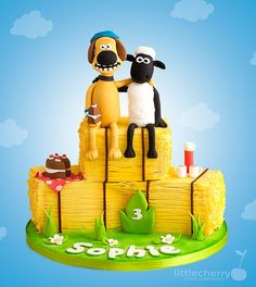 another Shaun the Sheep Cake from A.L.