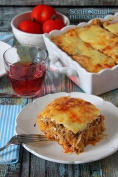 Köleses rakott káposzta Apple Pie, Favorite Recipes, Desserts, Blog, Foods, Tailgate Desserts, Food Food, Deserts, Food Items