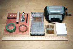 Luke & Kate – Amazing DIY Letterpress Invitations!