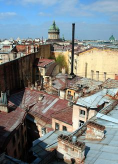 The roofs of #SaintPetersburg