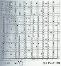 Lace Knitting Stitches: Lace Knitting Stitch #53