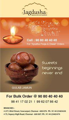 Enjoy the True taste of Gulab Jamun with Jagdusha Sweets & Savories. . .It's time to taste. . .