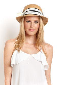MAGID Bucket Hat with Flower