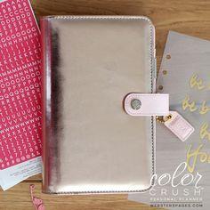 Color Crush Planner Kit Personal PLATINUM ROSE - preordine - Scrap It Easy