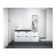 NORDLI Kommode mit 6 Schubladen  - IKEA Tiefe: 43 cm Schubladentiefe: 39 cm Höhe: 52 cm Breite: 120 cm