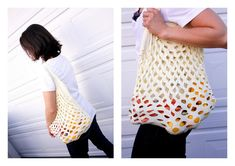 Easy T-Shirt Grocery Bags - 15 Simple and Affordable DIY Projects