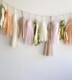 Dakota Tassel Garland by Paper Fox LA on Scoutmob Shoppe