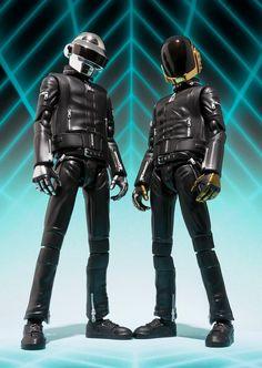 S.H.Figuarts Daft Punk Figures - November '13