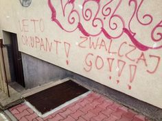 Okupacja UE - graffiti Wrocław #UE #graffiti #Wrocław