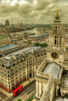 London from above.