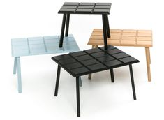 70% Table by Anna Þórunn - Nesting tables inspired by Iceland's collective sweet tooth