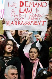 We Demand a Law to Protect Women from Street Harassment (egypt) #feminism