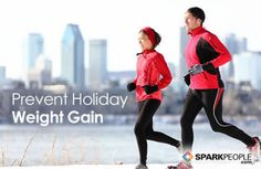 How to stop creeping holiday weight gain. Great tips!!| via @SparkPeople #holidays #weightloss #diet #health