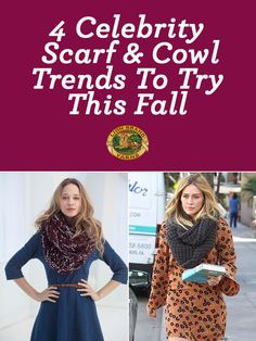 Wear it like a celeb! Four trendy celebrity knit & crochet looks to DIY this fall!