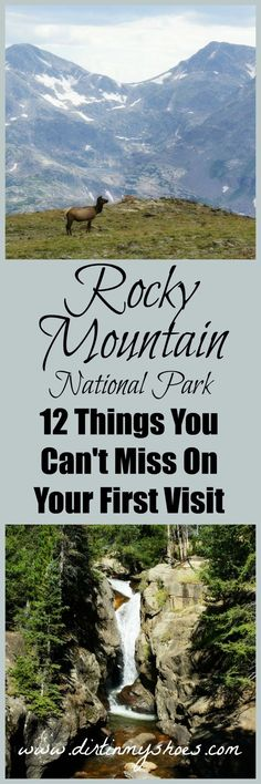 12 incredible hikes, lakes, and viewpoints you can't miss on your first visit to Rocky Mountain National Park.  Travel the highest highway in the United States to over 12,000 feet above sea level!
