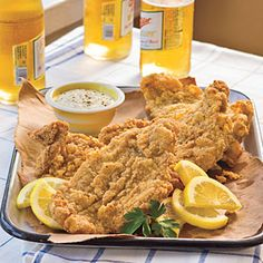 Classic Fried Catfish | MyRecipes.com  I don't like catfish, but will use recipe for Perch, Haddock, etc.