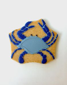 Blue Crab Cookie by Casue | Cookie Connection