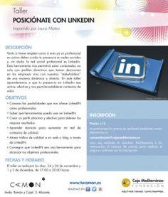 """Curso """"Posiciónate con Linkedin"""" en CAMON Alicante impartido por Laura Mateo"""