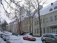 Munkkiniemi Helsinki, Eero Saarinen, Capital City, Finland, Beautiful Homes, Exterior, Architecture, Outdoor, Norway
