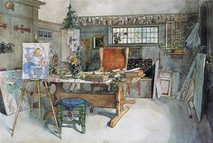 The Studio - Carl Larsson