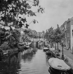 Leiden, The Netherlands has beautiful canals