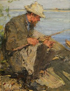 Nicolai Fechin - Painting of his father.