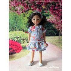 Tenue Confiture de Roses pour Poupée Little Darling